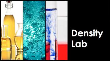 Density Lab Activity Bundle