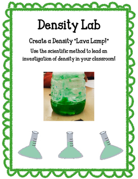 Density Lab - Matter - Experiment