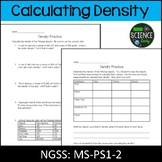 Density Lab and Homework