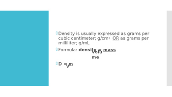 Density Lesson PowerPoint