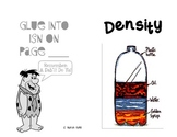 Density Notes Booklet for Interactive Science Notebook and PowerPoint