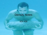 Density Notes PowerPoint Presentation