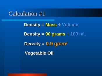 Density Problems Presentation