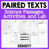 Density - Paired Texts - Passages, Activities, and Lab