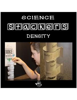 Density Practice Science Stackers