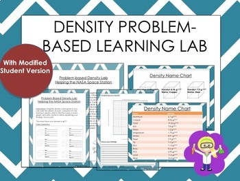 Density Problem based Learning Lab (with modified charts)