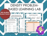 STEM Density Problem based Learning Lab (with modified charts)