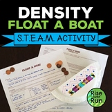 Density STEAM STEM Boat Activity