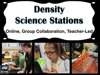 Density Science Stations (online, group collaboration, teacher-led)