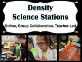 Density Science Stations (online, group collaboration, teacher-led)