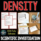 Density - Scientific Investigation