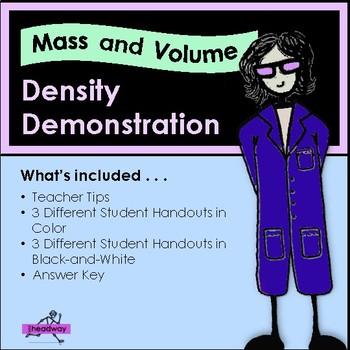 Density - Soda Pop Demonstration