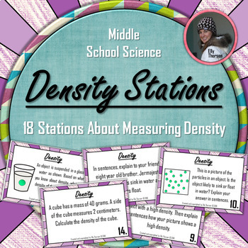 Density Stations: A Science Measurement Activity