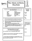 Density Study Guide