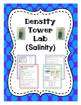 Density Tower Lab-Salinity