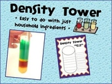 Density Tower Worksheet