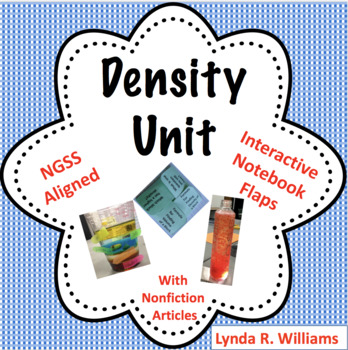 Density Lab Unit With Nonfiction Passages NGSS 5-PS1-1 and 5-PS1-3