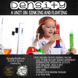 STEM Challenge Density:  Will it Sink or Float?