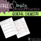 Density Worksheet