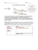 Density Worksheet A with KEY