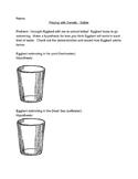 Density Worksheet for Solids, Liquids, and Gases