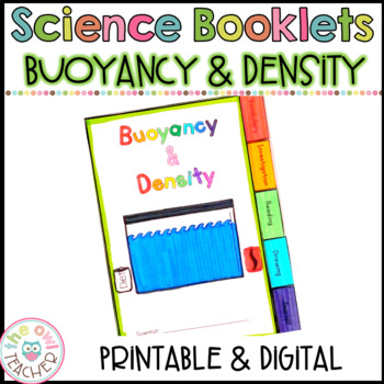 Density and Buoyancy Tabbed Booklet