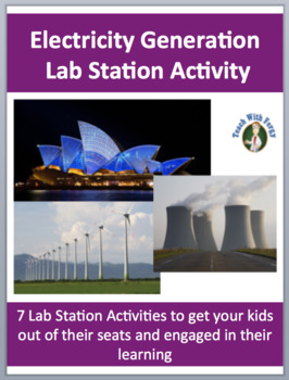 Electricity Production - 7 Lab Station Activities