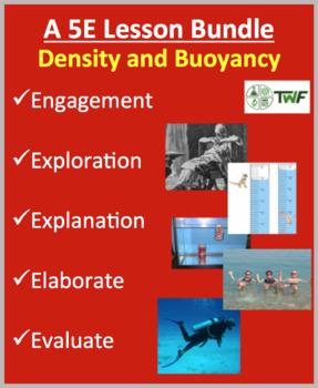 Density and Buoyancy - Complete 5E Lesson Bundle