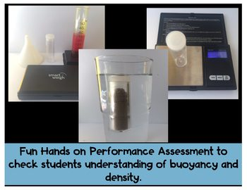 Density and Buoyancy Scientific Argument with Claim Evidence and Reasoning