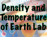 Density and Temperature of Earth's Layers Lab