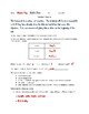 Density - homework