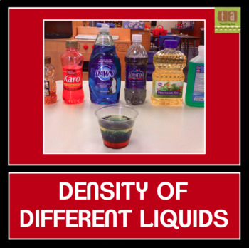 Density of Different Liquids Experiment