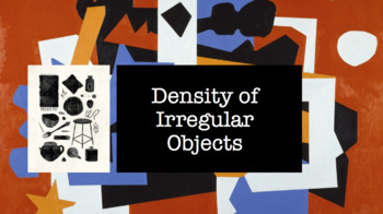 Density of Irregular Objects