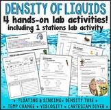 Density of Liquids Labs Activities