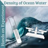 Density of Ocean Water - Hands on activity for middle school