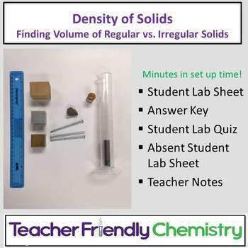 Chemistry Lab: Density of Solids
