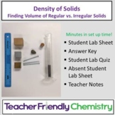 Chemistry Lab: Density of Solids - Regular and Irregular (Water Displacement)
