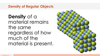Density of a Regular-Shaped Object Complete 5E Lesson Plan