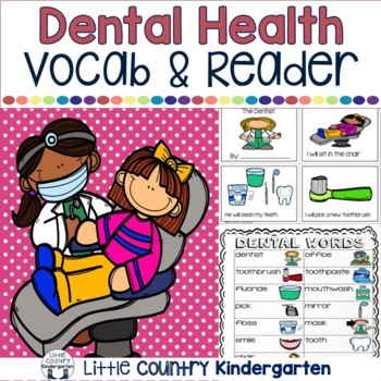 Dental Awareness Month Centers: Kinder Literacy and Math