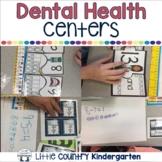 Dental Health Activities: Kindergarten Literacy and Math Centers