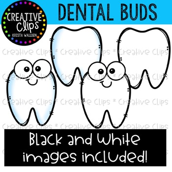 Dental Buds: Dentist Clipart {Creative Clips Clipart}