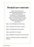 Dental Care EYLF