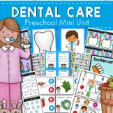Dental Care Tooth Fairy Preschool Math and Literacy Center
