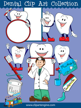 Dental Clip Art Collection
