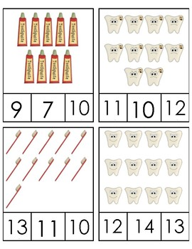 Dental Clip Counting