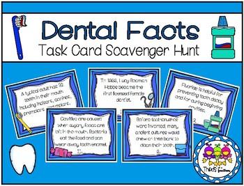 Dental Fact Scavenger Hunt