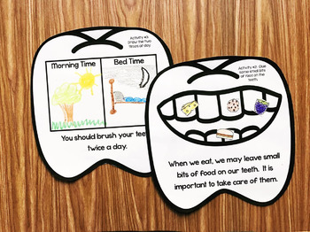 Dental Health Month Activities for Kindergarten