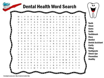 Dental Health Activity