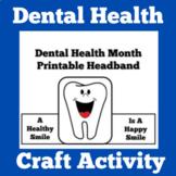 Dental Health Printable Activity