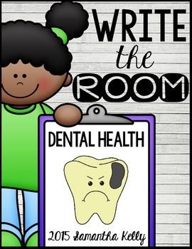 Dental Health Write the Room Center